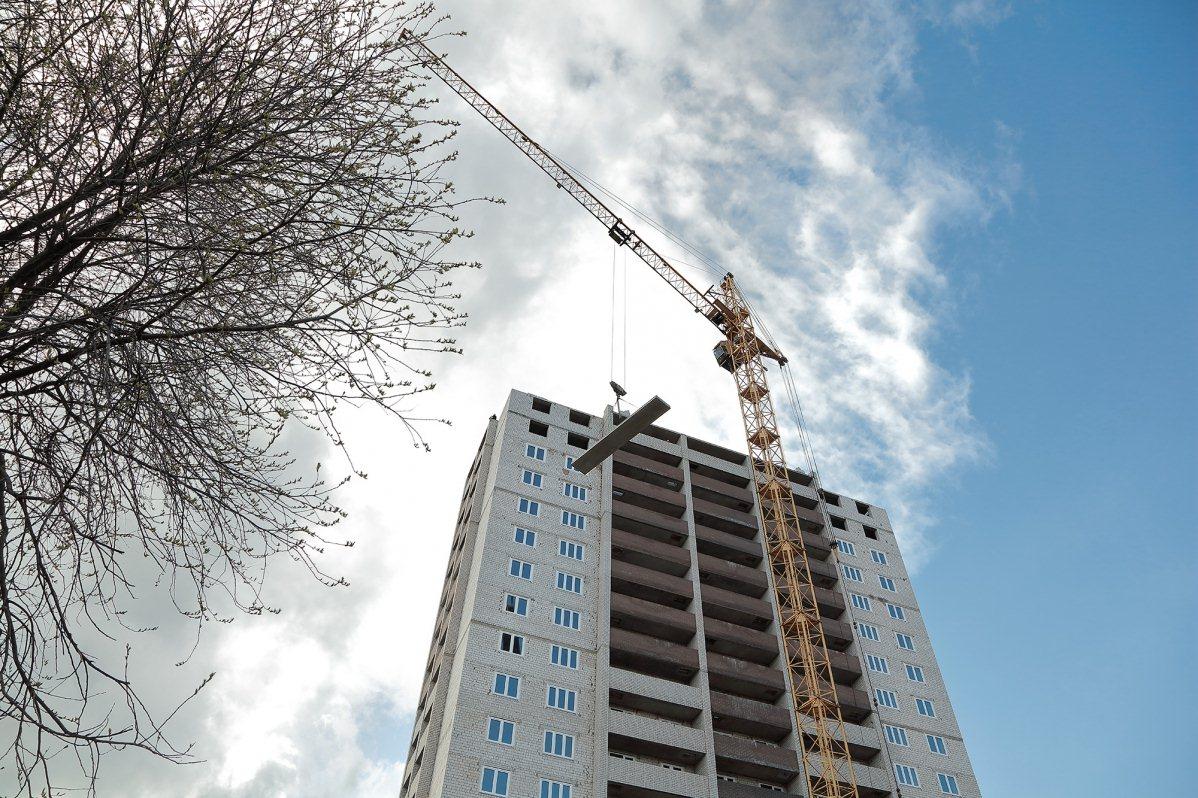 Начались работы по монтажу противопожарных систем в доме № 14 по улице Полевой